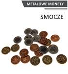 Metalowe monety Smocze (zestaw 24 monet)