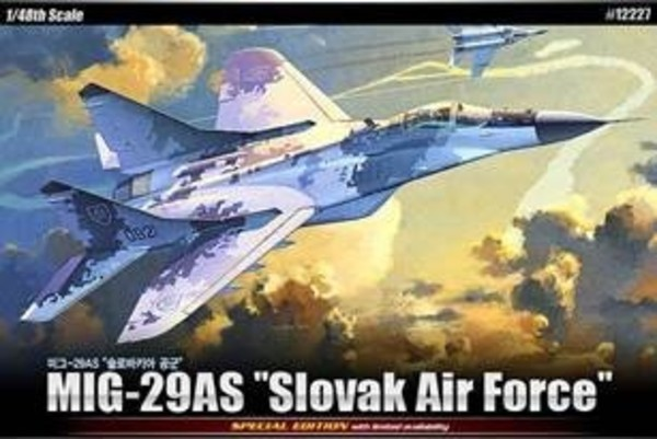 MIG-29AS Slovak Air Force 1:48