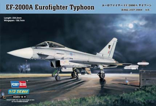 Model plastikowy EF-2000 Eurofighter Typhoon
