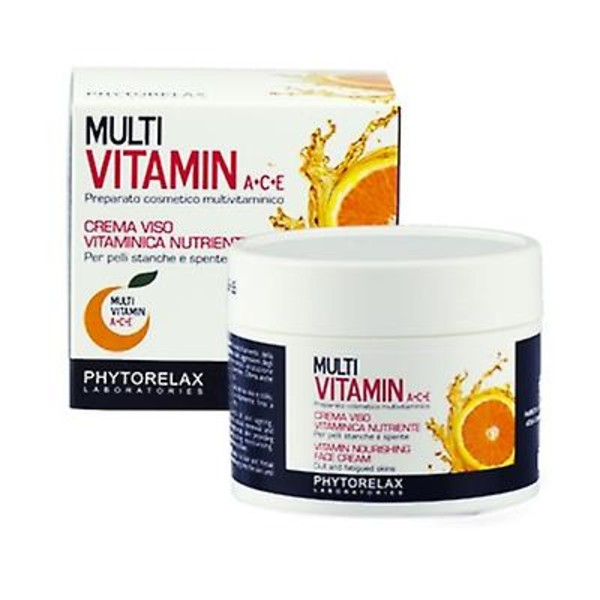 Multi Vitamin A+C+E Vitamin Nourishing Face Cream Odżywczy krem do twarzy