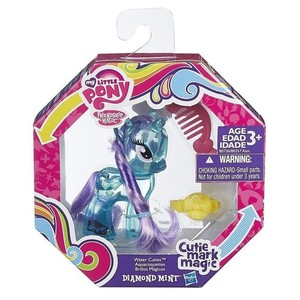 Hasbro My Little Pony Brokatowe kucyki Diamond Mint