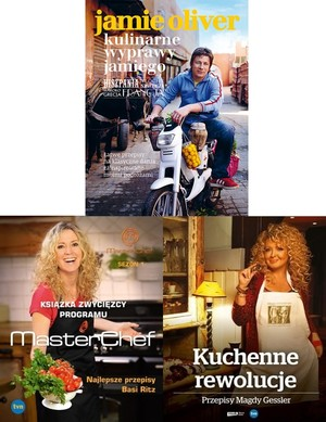 Najlepsze Przepisy Basi Ritz Książka Zwycięzcy Programu Masterchef Kuchenne Rewolucje Kulinarne Wyprawy Jamiego Pakiet