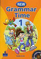 New Grammar Time 1. Student`s Book Podręcznik + CD