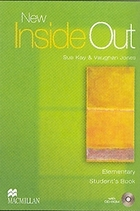 New Inside Out Elementary. Student`s Book + CD - Sue Kay, Vaughan Jones
