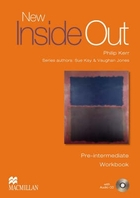 New Inside Out - Pre-Intermediate. Workbook (without key) + CD - Sue Kay, Vaughan Jones