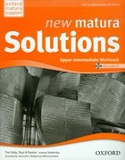New Matura Solutions -Upper-Intermediate Workbook Zeszyt ćwiczeń + CD - Paul A. Davies, Tim Falla, Joanna Sobierska