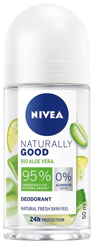 Naturally Good Dezodorant w kulce Bio Aloe Vera