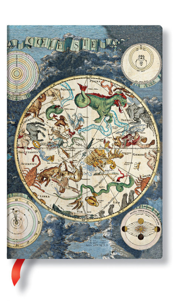 Notes Flexis Celestial Planisphere Mini Lined