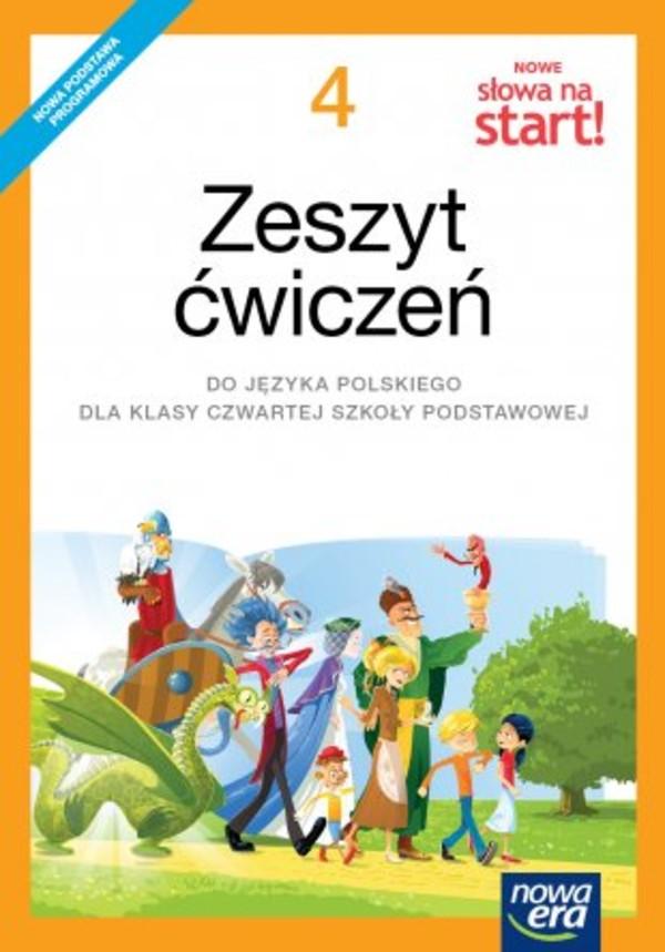 podręcznik do polskiego nowe słowa na start