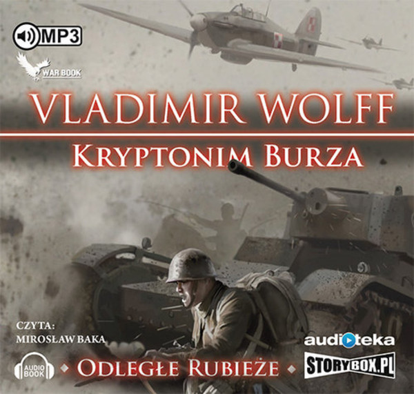 Odległe rubieże. Kryptonim burza Audiobook CD Audio