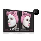 OMG! 2 in 1 Kit Detox Bubbling Microfiber Mask -