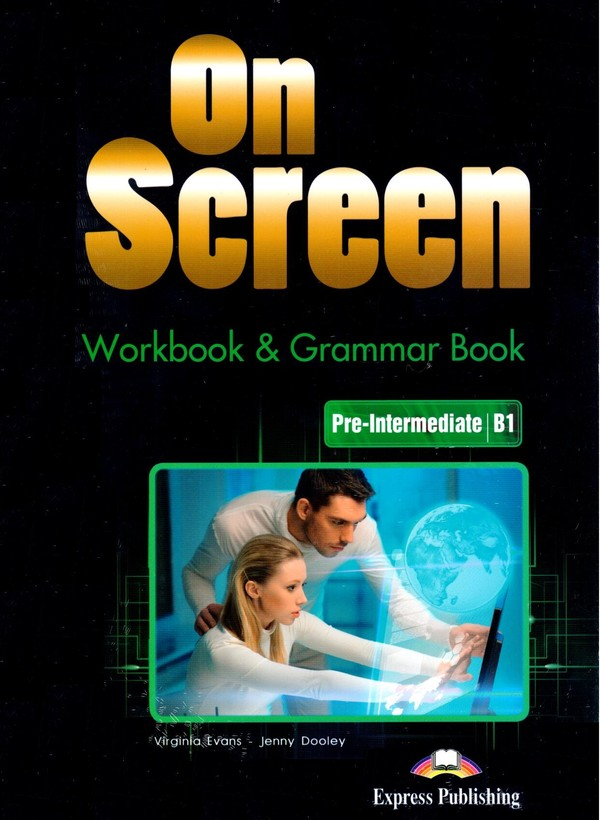 On Screen. Pre-Intermediate B1. Workbook Zeszyt ćwiczeń + Grammar Book Gramatyka + DigiBook