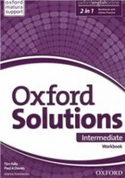 Oxford Solutions -Intermediate Workbook Zeszyt ćwiczeń with Online Practice Pack - Paul A. Davies, Tim Falla, Joanna Sobierska