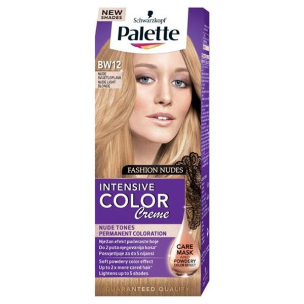 Palette Intensive Color Creme - BW12 Jasny Blond