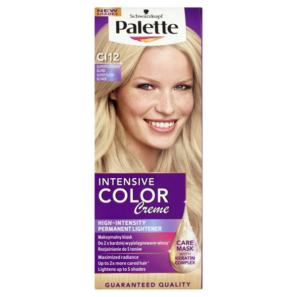 Palette Intensive Color Creme - CI12 Superplatynowy blond