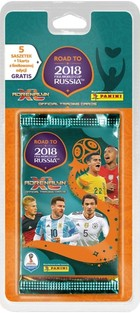 Panini Adrenalyn XL Road to 2018 FIFA World Cup Russia Blister 5+1 -