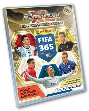 Panini FIFA 365 Adrenalyn XL Album do kart 2017