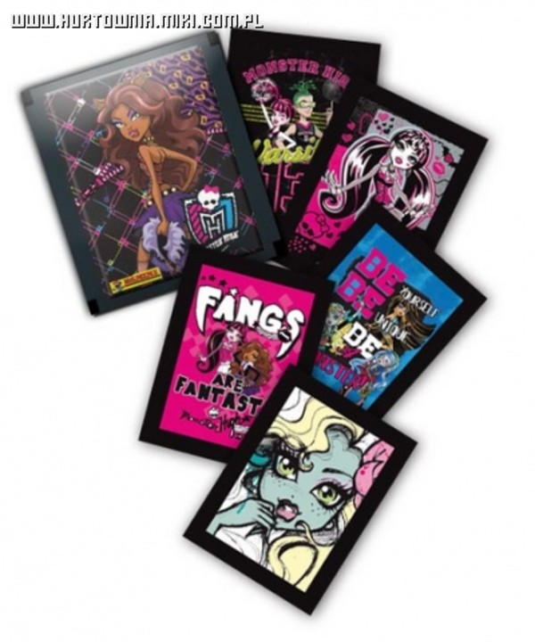 Panini Monster High - 25 naklejek