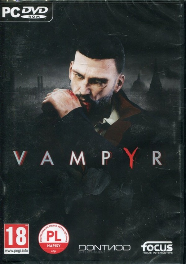 Gra Vampyr (PC) DVD-ROM
