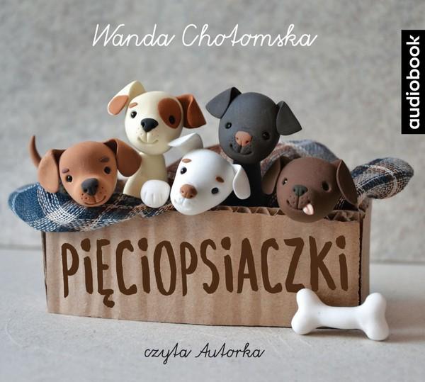 Pięciopsiaczki Książka Audio Mp3 Wanda Chotomska