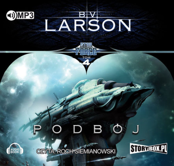 Podbój Star Force Tom 4 audiobook CD