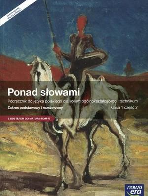 podręcznik do języka polskiego ponad słowami klasa 2 część 1