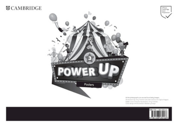 Power Up 3. Posters