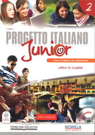 Progetto Italiano Junior 2. Podręcznik do gimnazjum + CD - T. Marin, A. Albano
