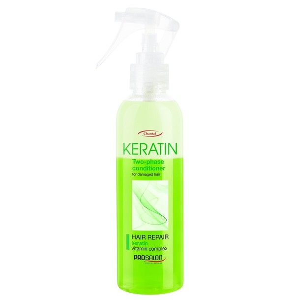 Prosalon Keratin Hair Repair Vitamin Complex Two-Phase Conditioner Dwufazowa odżywka do włosów