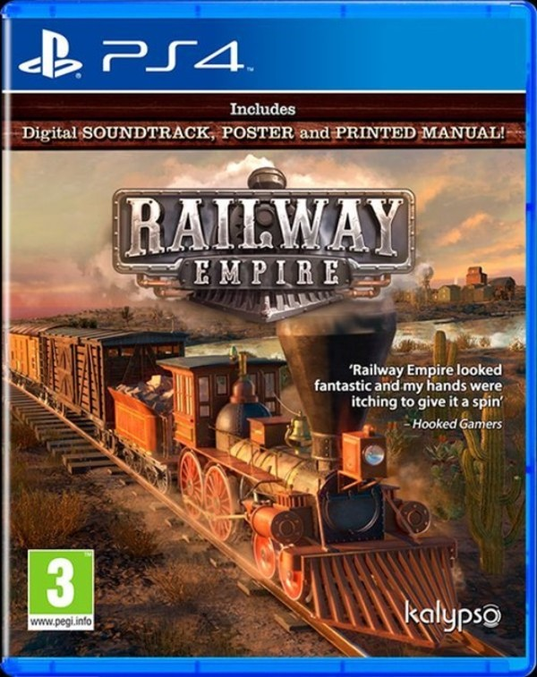 Gra Railway Empire (PS4) Blu-ray