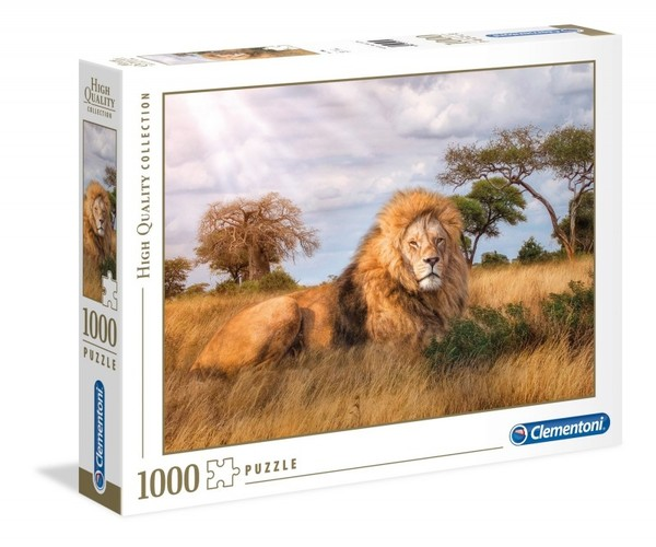Clementoni Puzzle High Quality Collection - Król