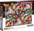 Clementoni Puzzle Impossible Puzzle Dragon Ball -