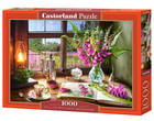 Castorland Puzzle Still Life with Violet Snapdragons -