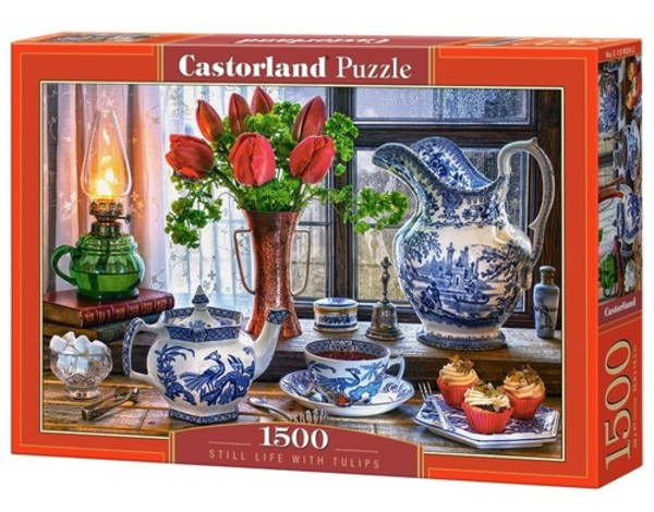 Castorland Puzzle Still Life with Tulips