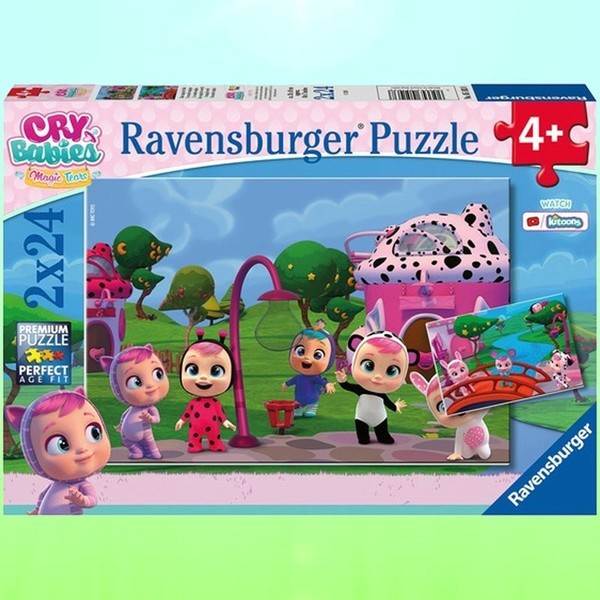 Ravensburger Puzzle Cry Babies Magic Tears 2x24 elementy