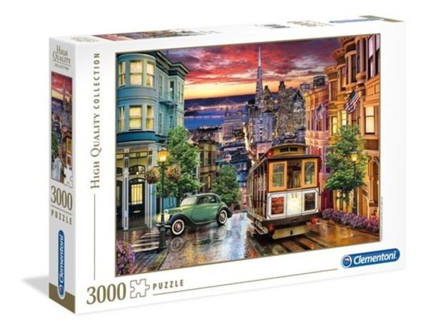 Clementoni Puzzle High Quality Collection San Francisco