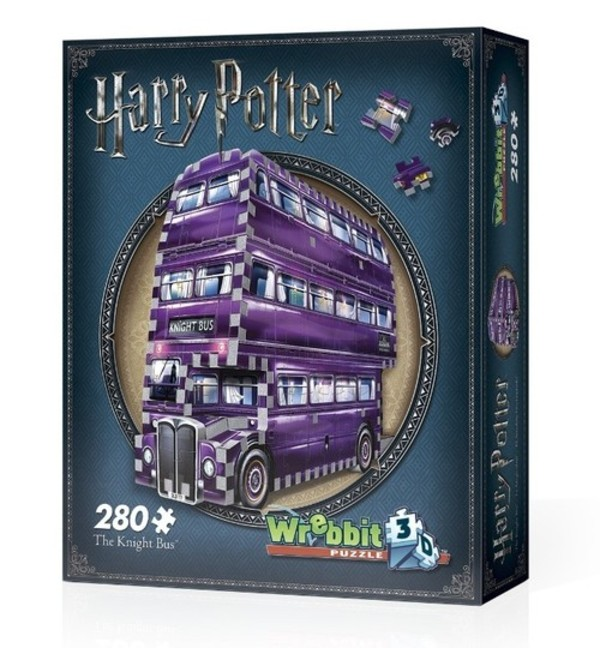 Wrebbit Harry Potter The Knight Bus 3D