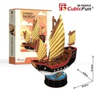 Puzzle 3D Żaglowiec Chinese Sailboat -