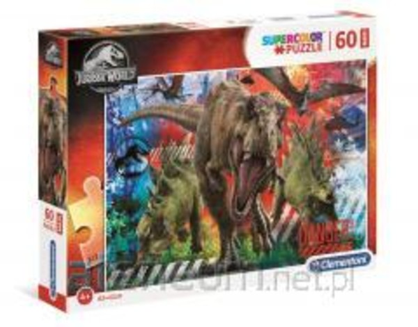 Puzzle 60 Maxi Super Kolor Jurassic World