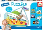 Puzzle Baby Pojazdy 2 -