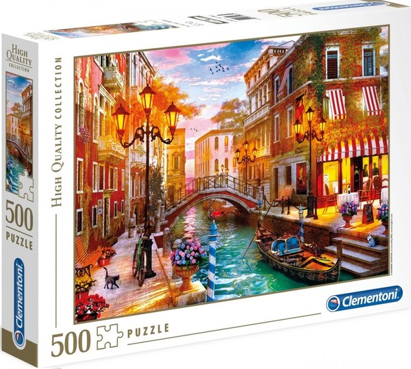 Clementoni Puzzle High Quality Collection Sunset Over Venice