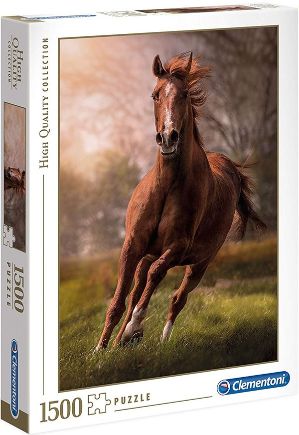 Clementoni Puzzle High Quality Collection The Horse