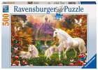 Ravensburger Puzzle Magiczne jednorożce -