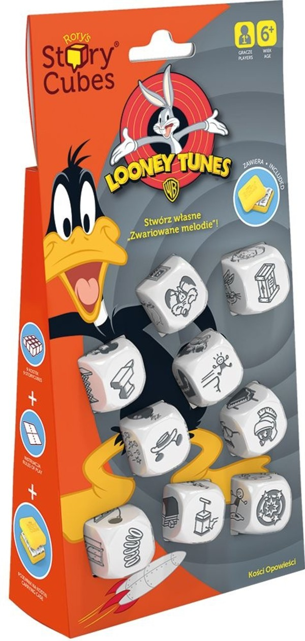 Rebel Gra Story Cubes Looney Tunes