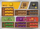 Rebel Gra Terraformacja Marsa - Zestaw 5 plansz graczy (z wycięciami)