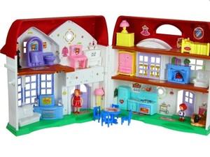 1d61b46f42614 Rozkładany domek dla lalek Happy Family 83,23zł - w Gandalf.com.pl