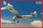 RWD-8 PWS German Latvian and Soviet Service -