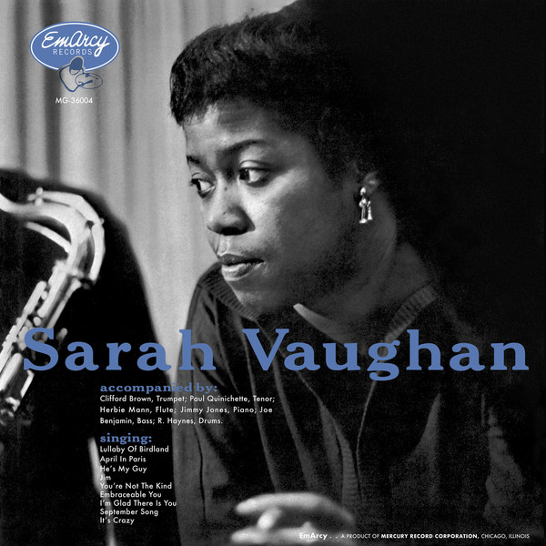 Sarah Vaughan with Clifford Brown (Acoustic Sounds Series) (vinyl)