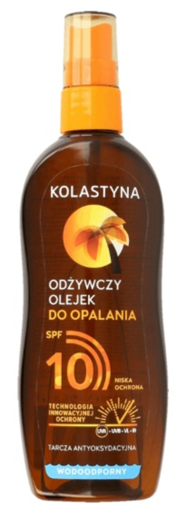 Olejek do opalania spray SPF10