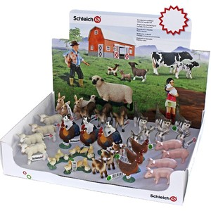 SCHLEICH Display Farma 36 szt.